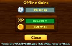 Offline Gains