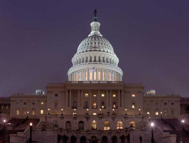 File:US Capitol Building at night.jpeg