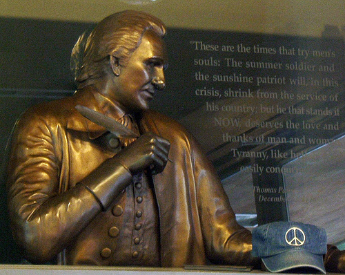 File:Thomas Paine And the Peace Hat.jpg