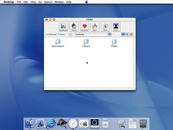 Mac OS X public beta1