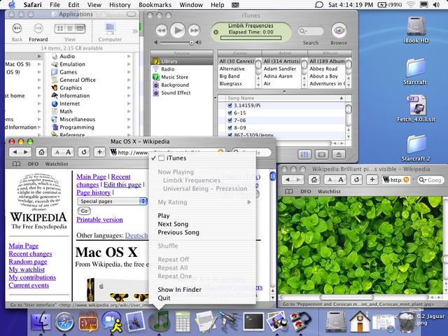 File:Mac OS X 10.2 Jaguar screenshot.png