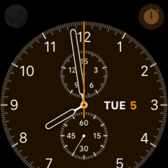 Chronograph Watch Face