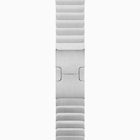 Silver Stainless Steel Link Bracelet