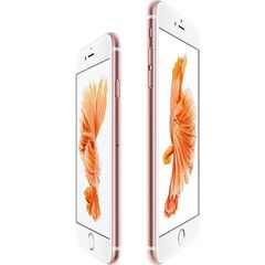The iPhone 6s and 6s Plus in Rose Gold.