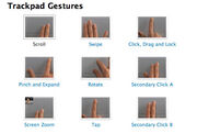 Multitouch-trackpad-gestures