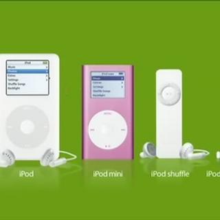 iPod lineup w/ Flea