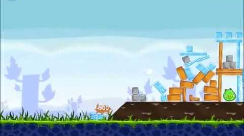 Official Angry Birds Walkthrough Poached Eggs 1-21