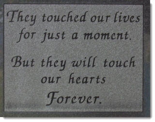 Touched-our-lives-tombstone-engraving