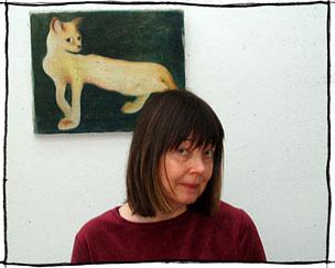 Arja kajermo and cat