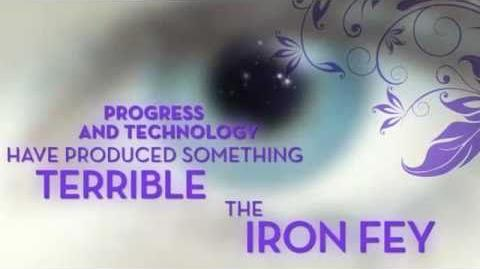 The Iron Fey Series by author Julie Kagawa