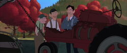 Dean, Earl, and the Tractor