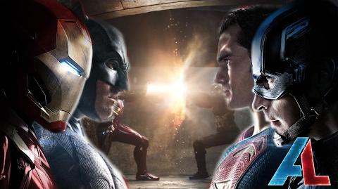 Marvel VS DC Civil War Epic Fan Trailer