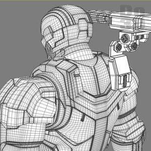 Large iron man 3 suits - mark 42 patriot mark 17 heartbreaker mark 38 igor armors 3d model 3ds fbx obj max 10b97b77-50e6-4bae-ac7d-adc847a18f81