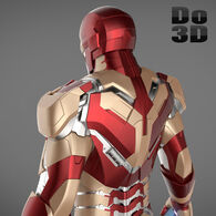 Large iron man 3 suits - mark 42 tony stark mark 39 gemini 3d model 3ds fbx obj max 6dfb9af6-deb7-4144-a284-f1ab0191f747