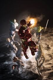 X-Men Legacy Vol 2 9 Many Armors of Iron Man Variant Textless