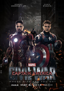 Captain America Civil War Official Poster