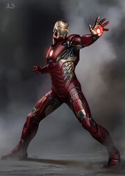 Iron Man 3 MkXLII early concept 670 max