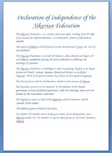 AikavDeclaration