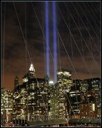 9-11 Lights from the Brooklyn Bridge