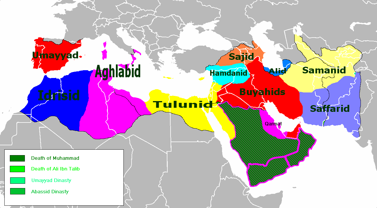 the abbasid empire The abbassid caliphate had its capital in baghdad.