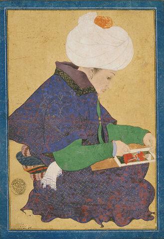 File:Ottoman Dynasty, Portrait of a Painter, Reign of Mehmet II (1444-1481).jpg