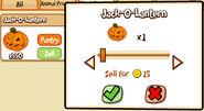 IP Pumpkin Jack-O-Lantern sell harvest 2011
