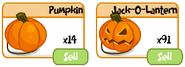 Pumpkins jack o lanterns IP