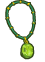 Peridot necklace small