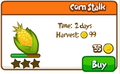Corn stalk shop