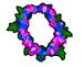 Cornflower garland chart