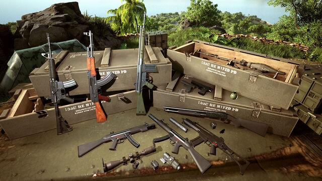 File:Weapons display.jpg