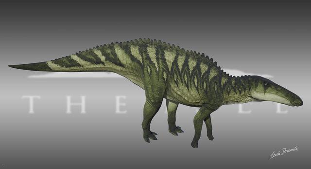 File:Shantungosaurus Phormium Skin The Isle.jpg