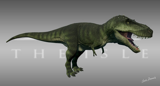 File:The Stomping Land Tyrannosaurus Forest Skin The Isle.jpg