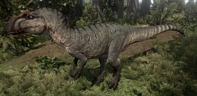 File:Mudflat Allosaurus The Isle.png