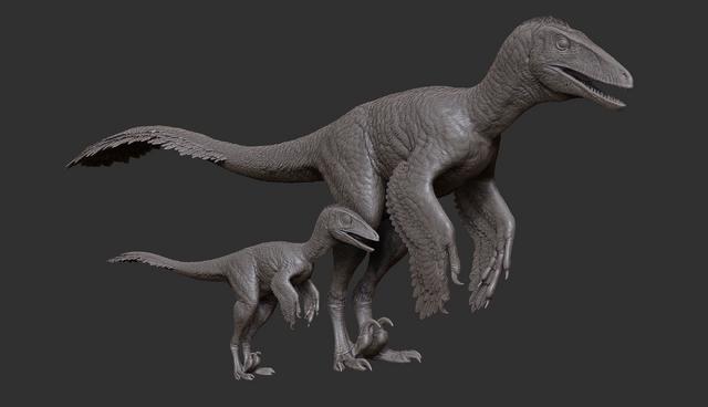File:Juvenile Dakotaraptor Model The Isle.png