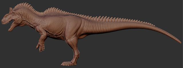 File:Allosaurus Full Body 3D Model Art The Isle.png