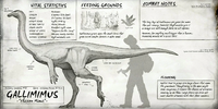 Gallimimus Dossier The Isle