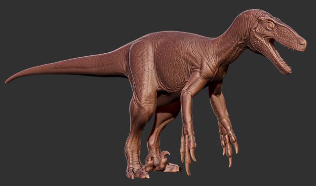File:Utahraptor 3D Model The Isle.png