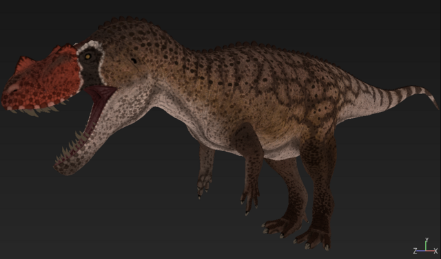 File:Red Ceratosaurus The Isle.png