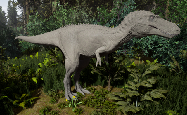 File:Albino Tyrannosaurus Rex Juvenile The Isle.png