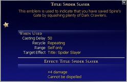 Title Spider Slayer