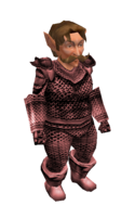 Light Red Mithril Chainmail Armor2
