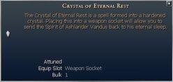 Crystal of Eternal Rest