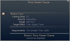 Title Expert Tailor