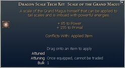Dragon Scale Tech Kit- Scale of the Grand Magus