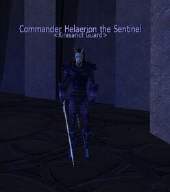 Commander Helaerion the Sentinel
