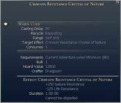 Resistance Crystals (consumable)