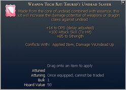 Thurid's Undead Slayer