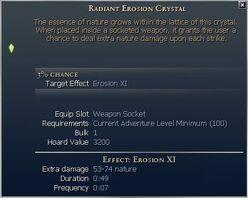 Erosion Crystal