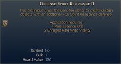 Defense Spirit Resistance II
